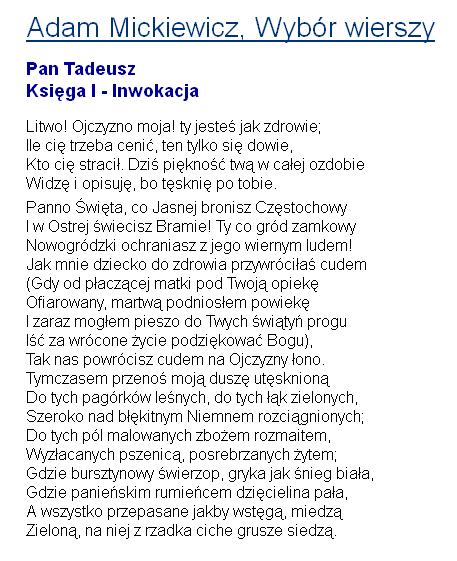 Strona Waldemara Bajdeckiego Dydaktyka